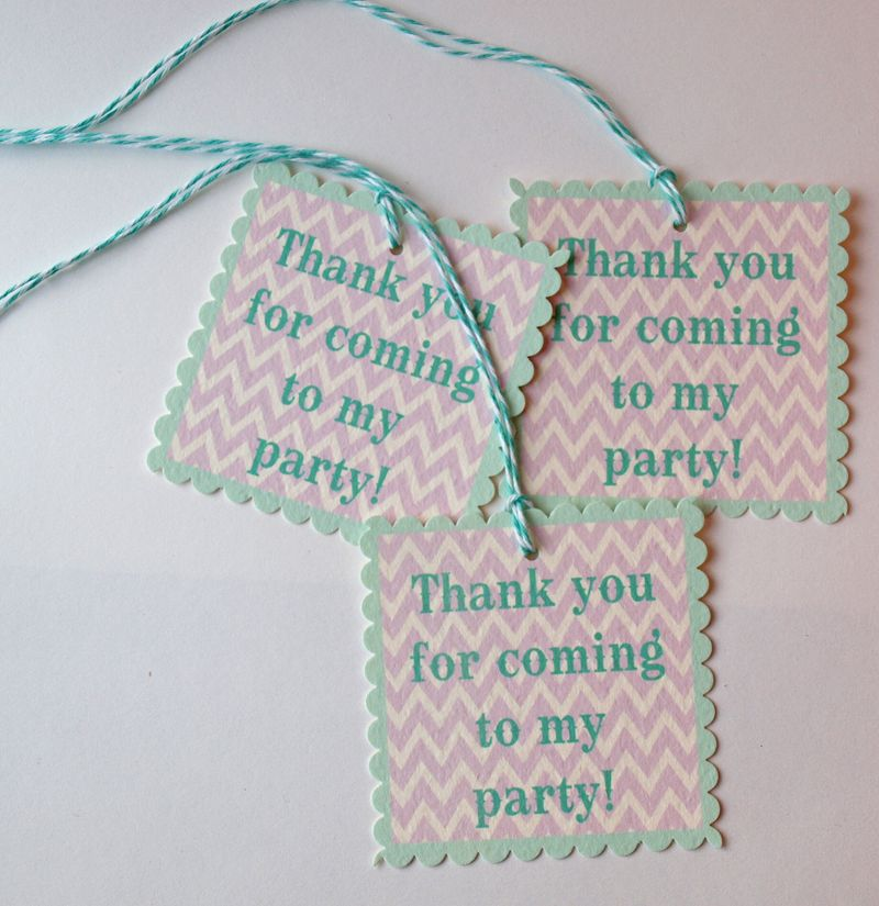 printable aqua and lavender party supplies