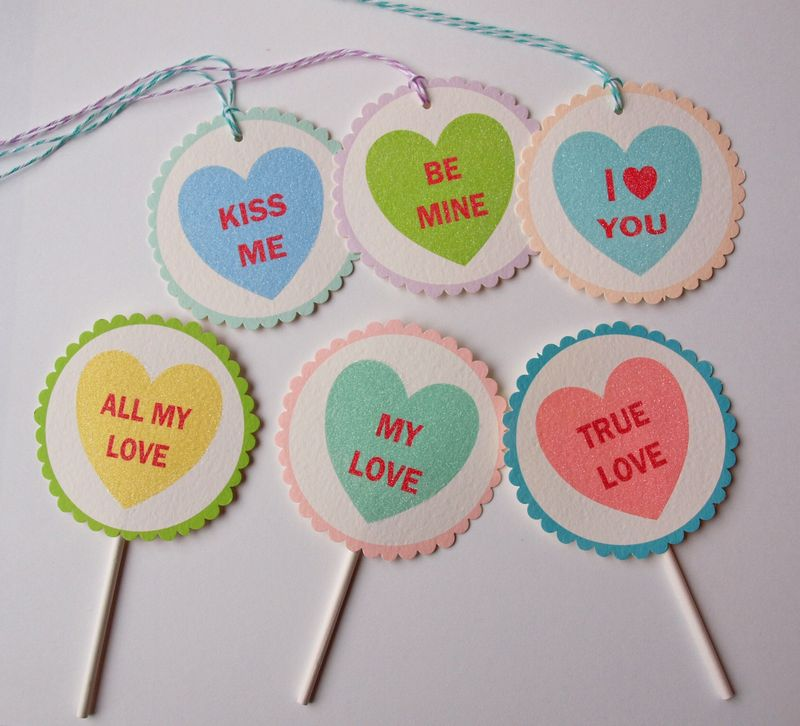 "heart ""candy"" printables"
